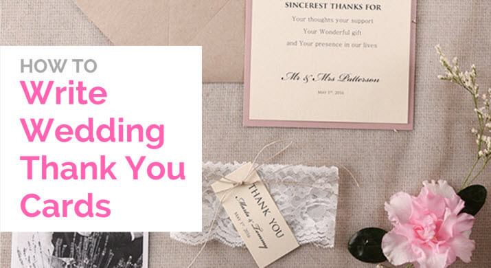 writing wedding thank you cards How to write bridal shower thank-you notes see our top tips for getting them done (in the midst of wedding planning) leave that for the wedding thank-you cards.
