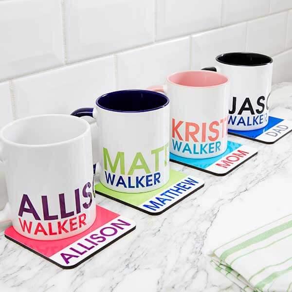 Custom Name Mugs