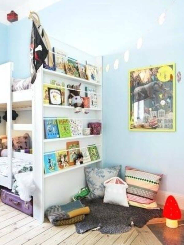 Reading Nook In A Kids' Bedroom