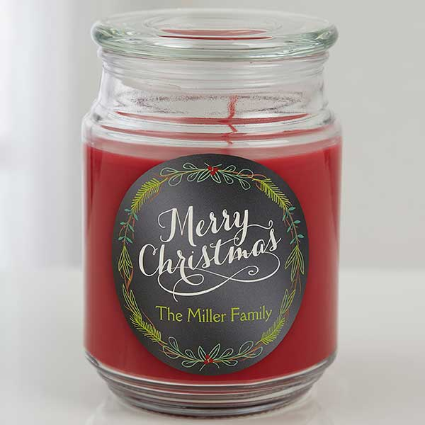 Real Estate Closing Gifts - Christmas Candle
