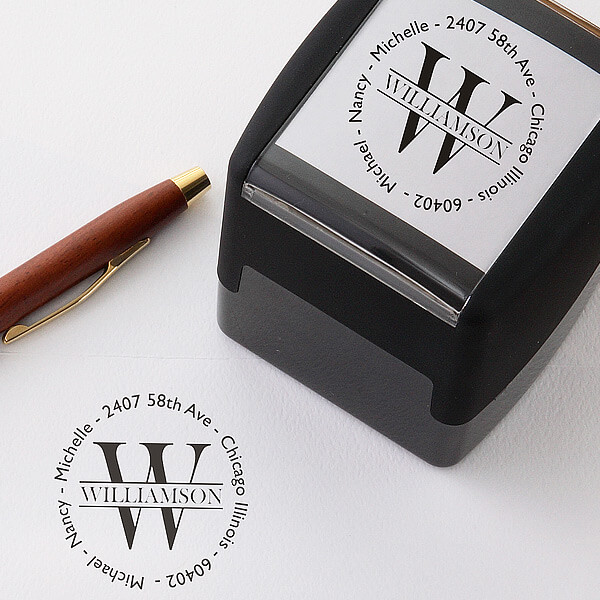 Real Estate Closing Gifts - Custom Address Stamp