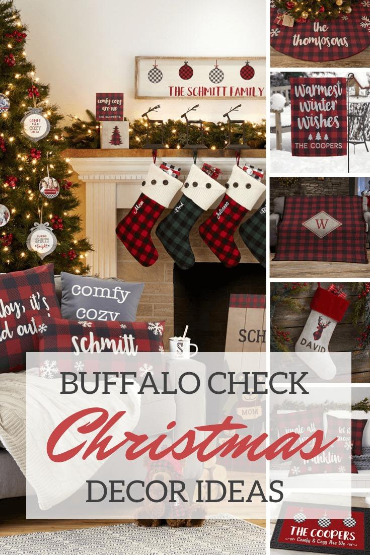 Buffalo Check Christmas Decor Ideas