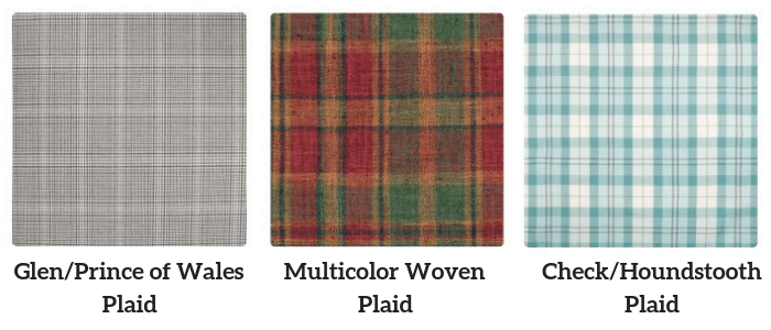 Plaid Pattern Examples