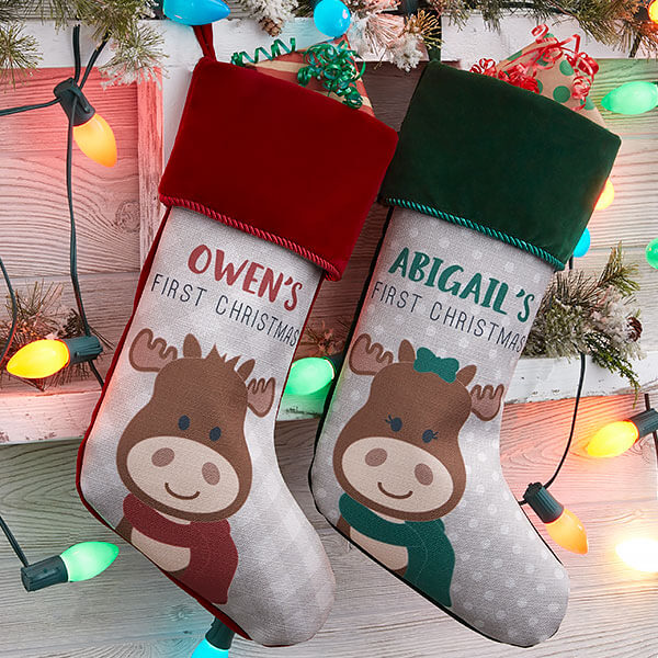 Baby's First Christmas Stockings
