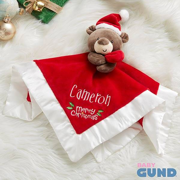 Baby's First Christmas Teddy Bear Toy