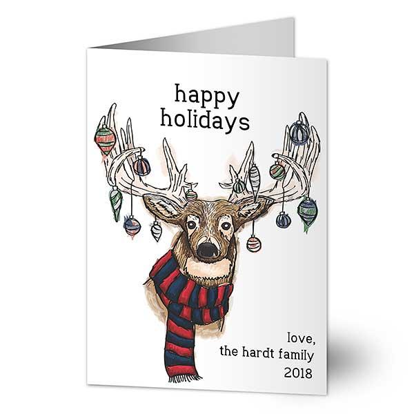 Custom Folded Holiday Cards