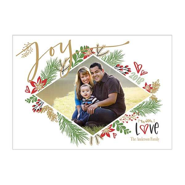 Custom Holiday Photo Cards from Personalization Mall