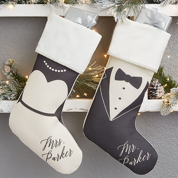 First Married Christmas Stockings