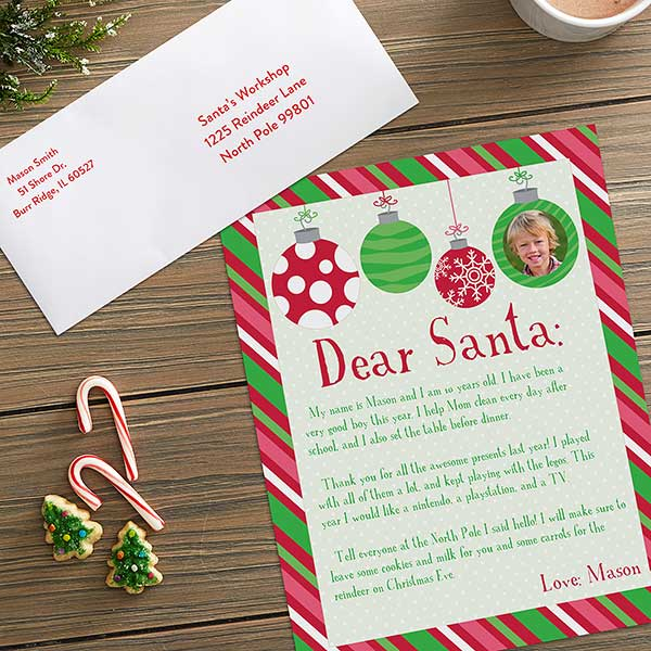 Personalized Letter To Santa
