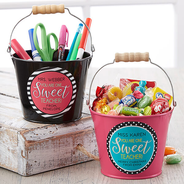 Teacher Pencil Holder Bucket