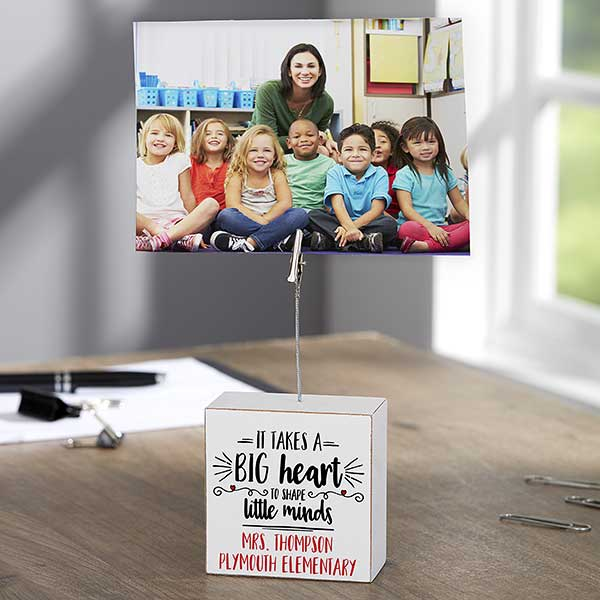 Photo Clip Holder Teacher Gift