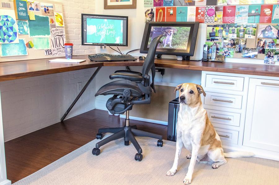 Vicky Barone's Office