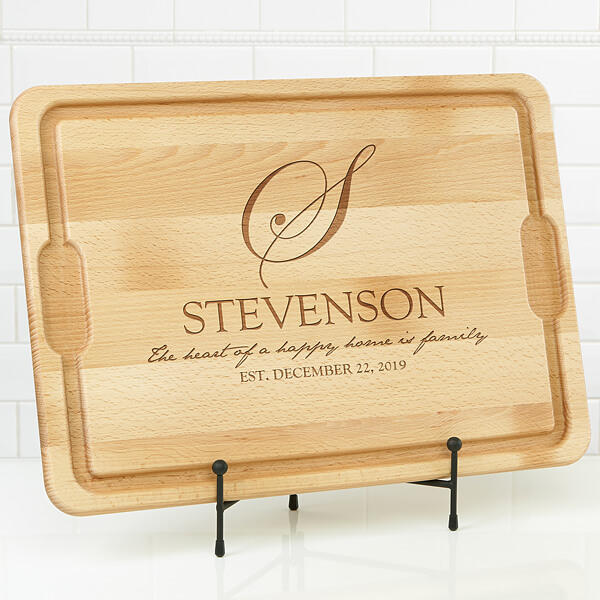 Personalized Cutting Board - Kitchen Counter Decor Ideas