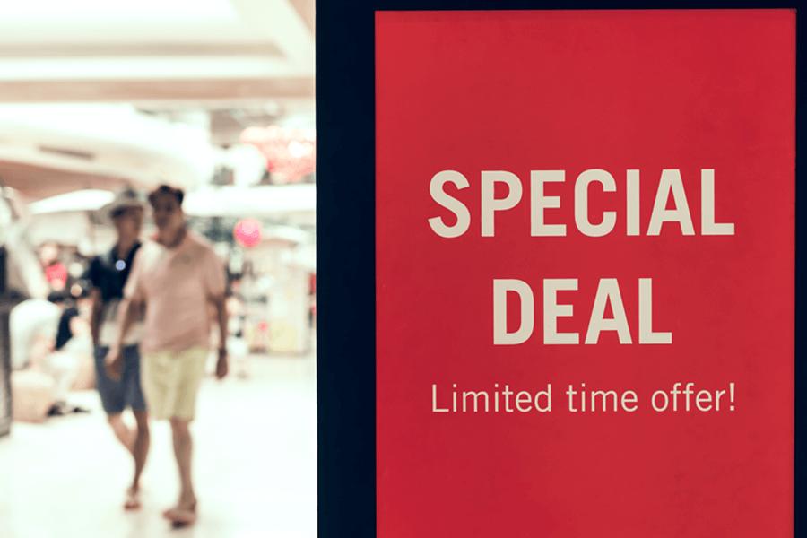 Take advantage of summer deals