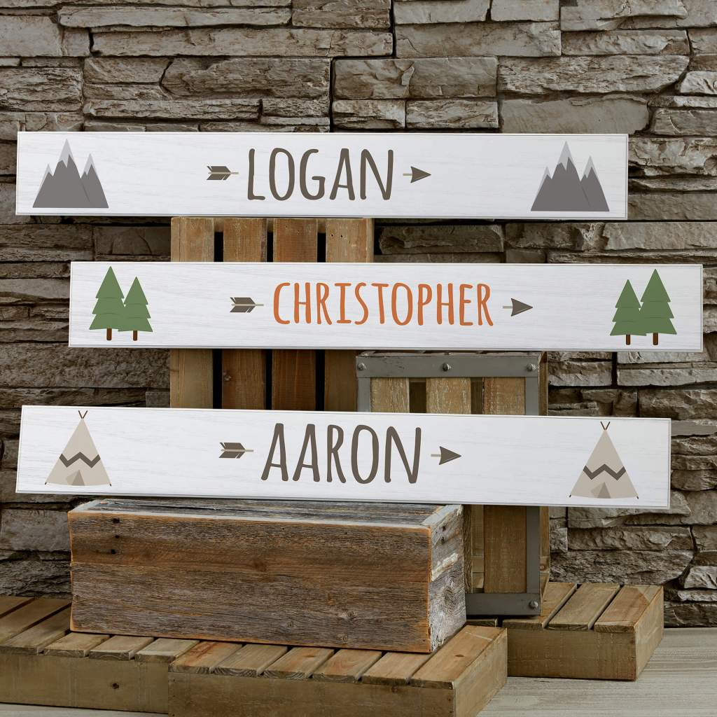 Adventure & Travel Nursery Decor - Wooden Signs