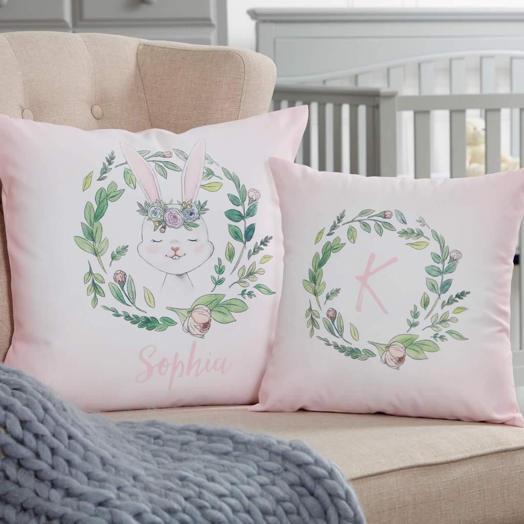 Floral Nursery Decor - Throw Pillows