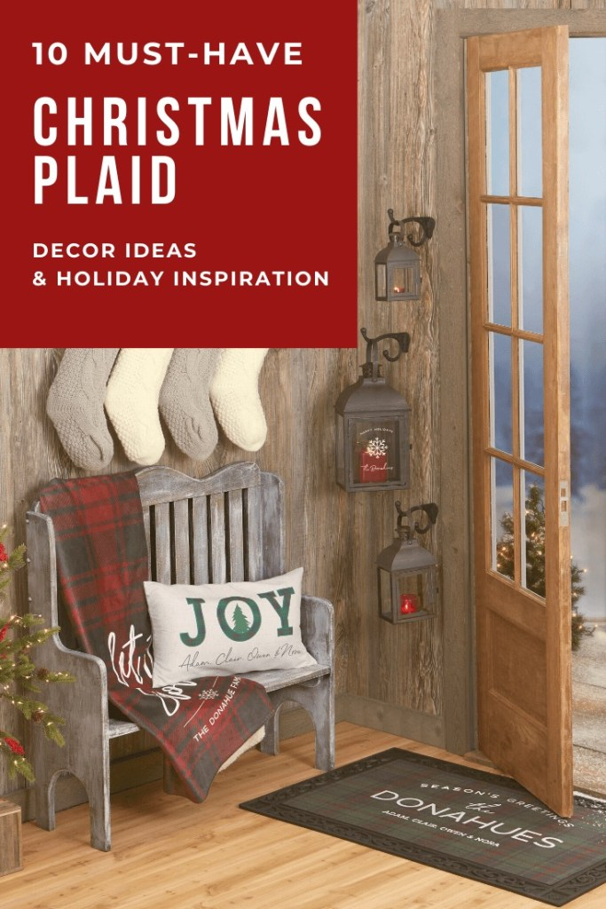 Christmas Plaid-Decor Ideas