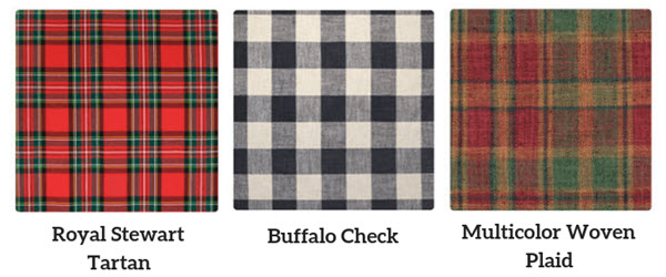 Tartan vs Buffalo Check vs Plaid