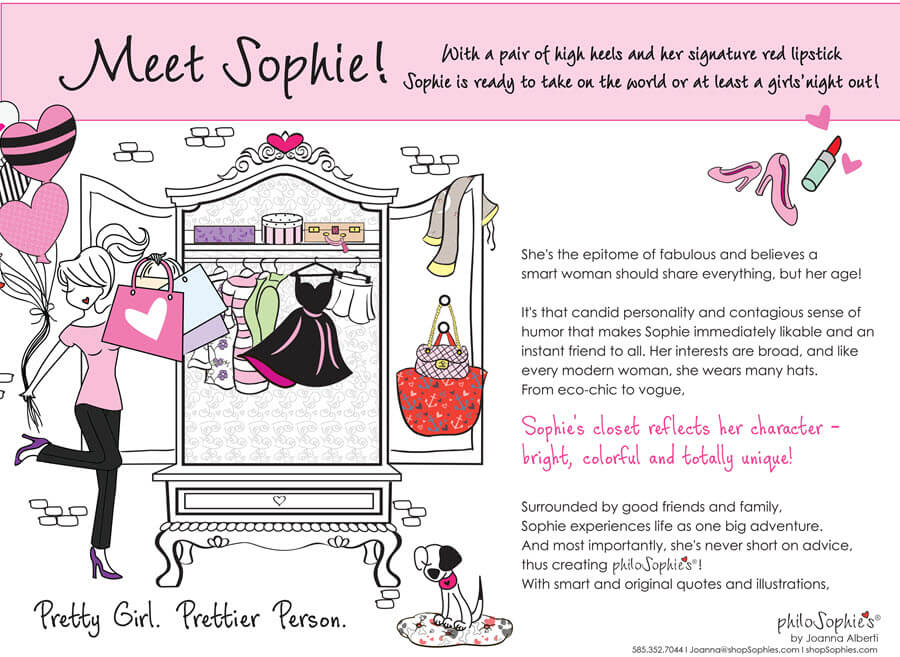 Meet Sophie - the gal behind philoSophie's
