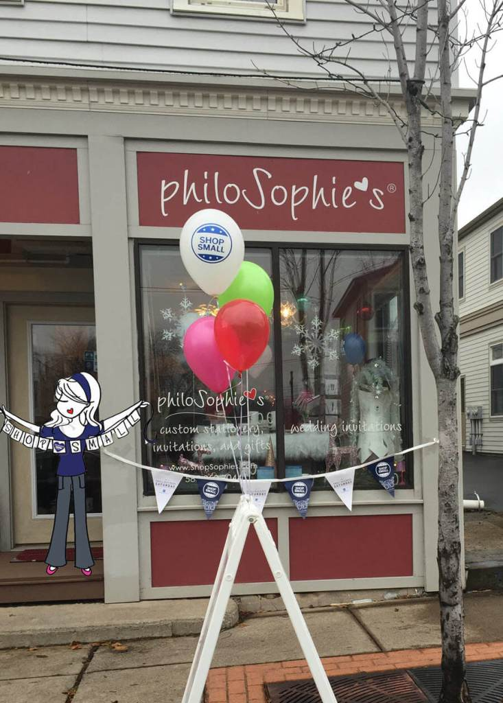 philoSophie's brick-and-mortar store in upstate New York