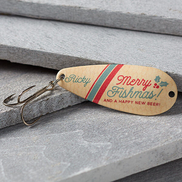 Personalized Christmas Fishing Lure