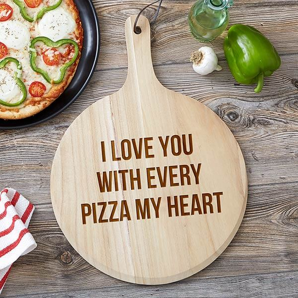 Romantic Pizza Peel Gift