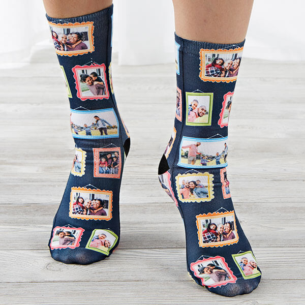 Framed Photo Collage Socks