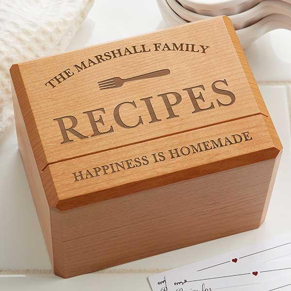 Recipe Boxes