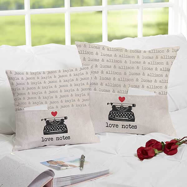 Love Notes Pocket Pillows