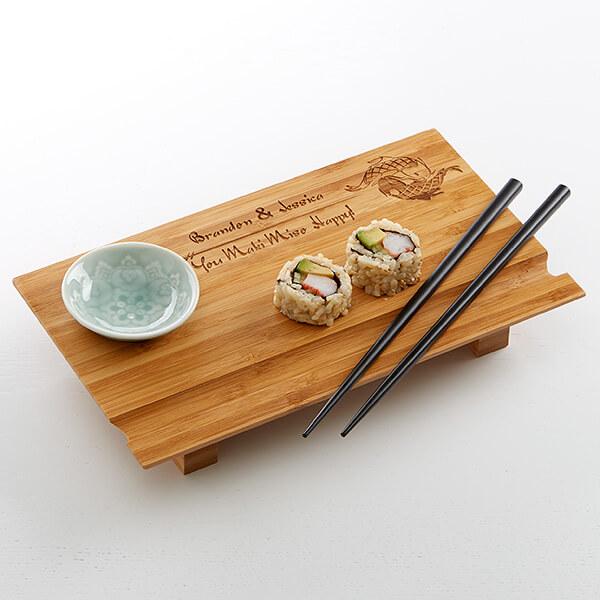 Yin & Yang Sushi Board
