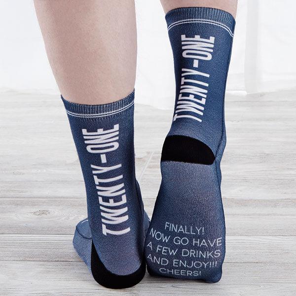 Custom Birthday Socks
