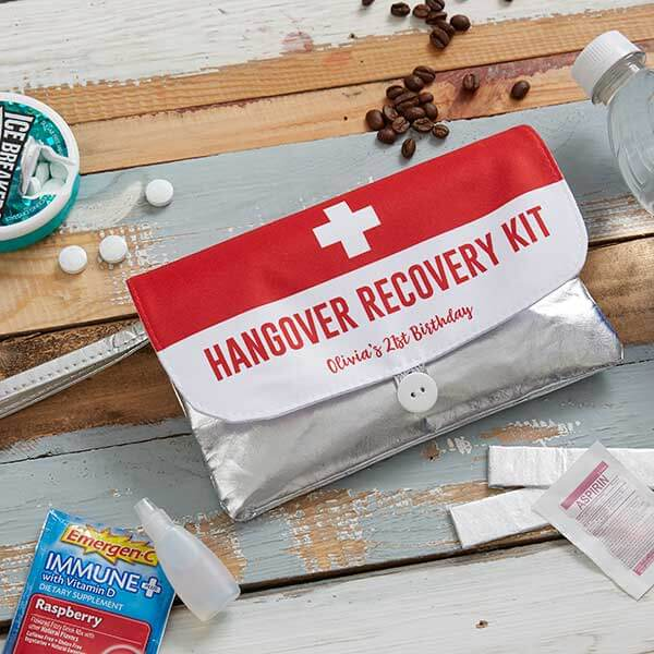 DIY BIrthday Hangover Kit
