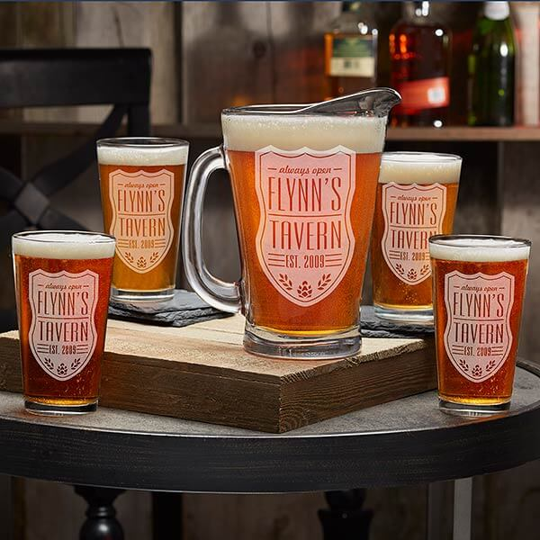 Father's Day Beer Pitcher & Glasses