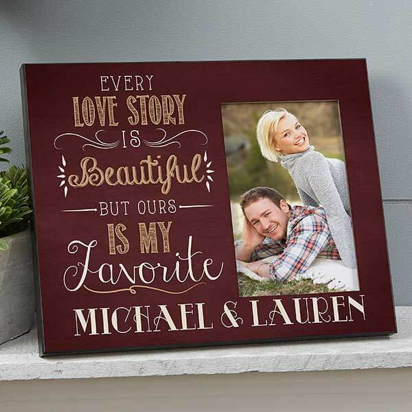 Love Story Picture Frame