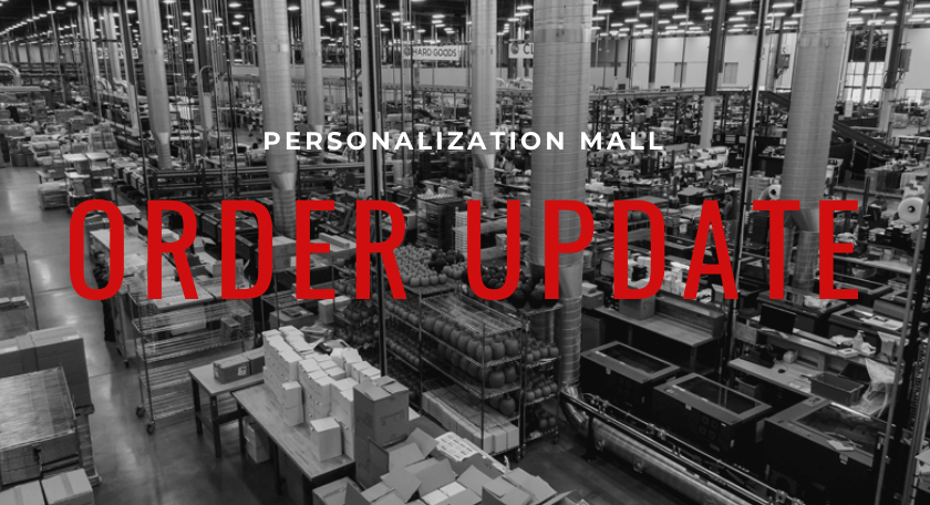 PMall COVID-19 Order Update