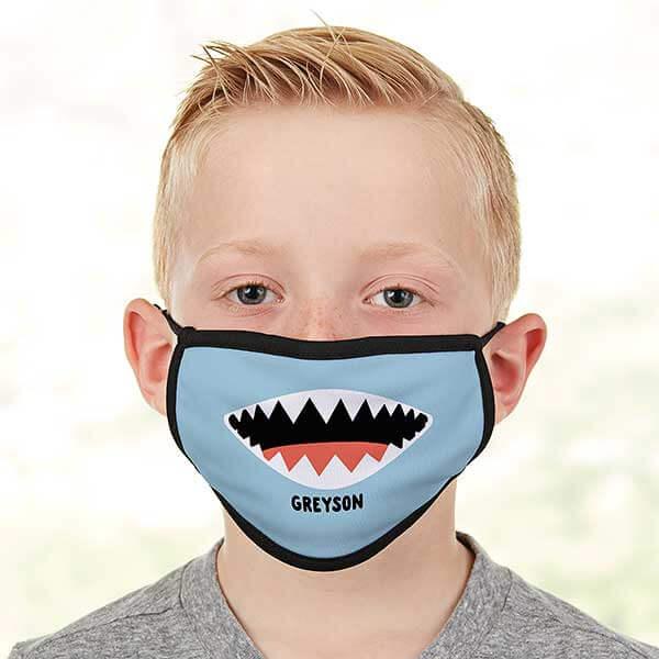 Shark Kids Face Masks