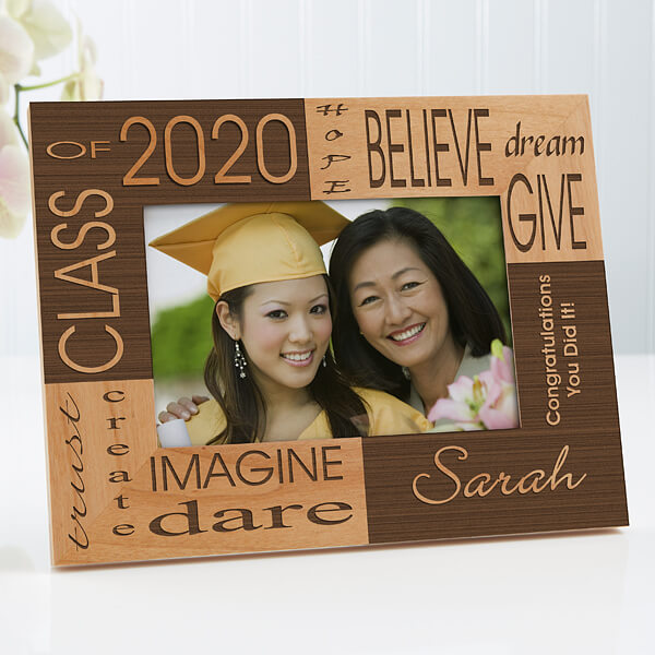 Engraved Graduation Picture Frame
