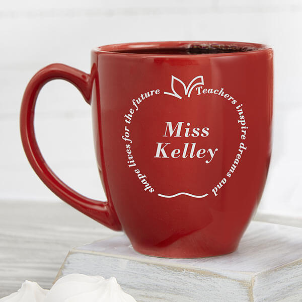 Engraved Teacher Mug