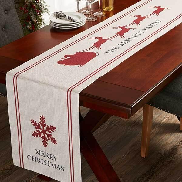 Nostalgic Noel Christmas Table Runner