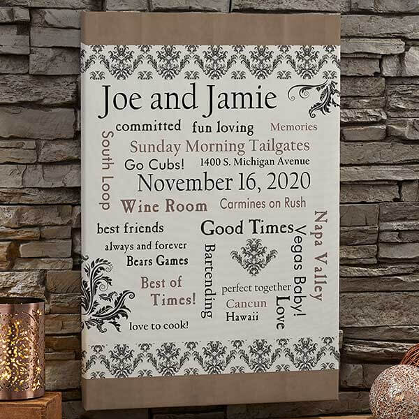 Our Life Together Canvas Prints