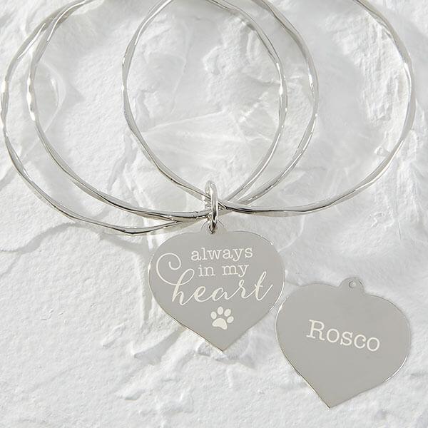 Pet Memorial Charm Bracelet