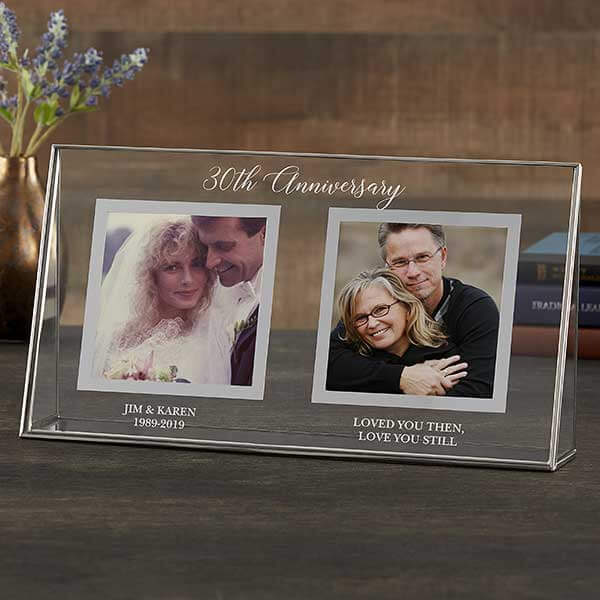 Him /& Parents Blessed Mum /& Dad Wall Plaque Anniversary Gift Ideas for Her