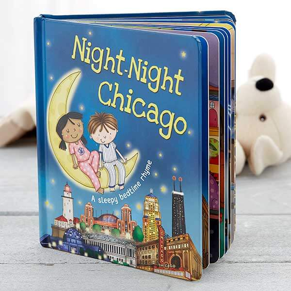 Night Night Personalized Kids Book