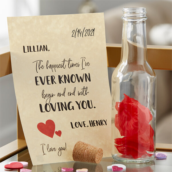 Paper Anniversary Gift - Love Letter