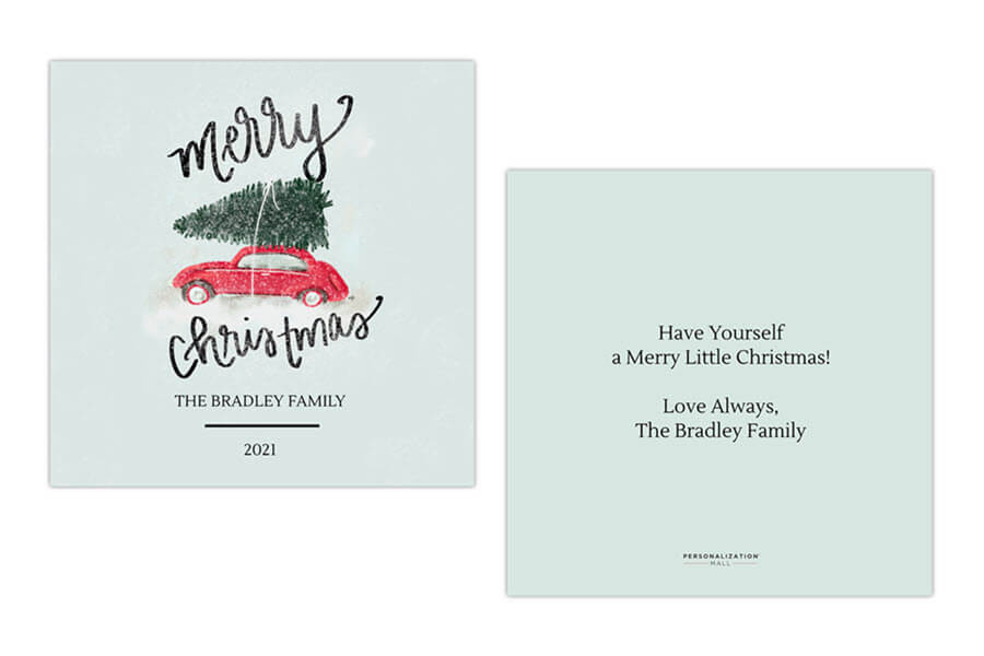 Simple Christmas Card Messages
