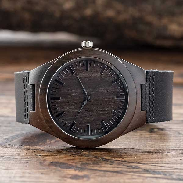 Engraved Watch - Engagement Gift for Him