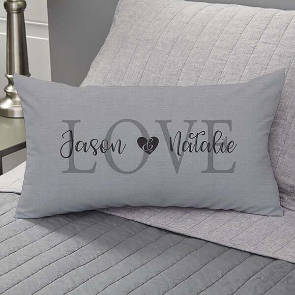 Personalized Velvet Pillow