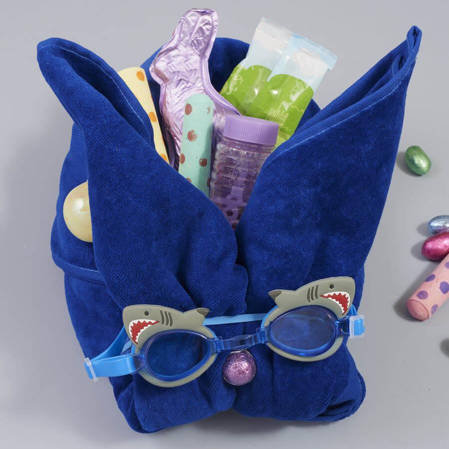 Beach Towel Easter Baskets