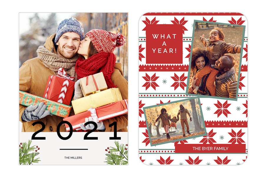 2021 Christmas Photo Cards