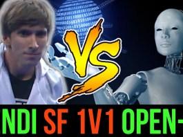 Dendi lost to OpenAI